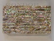 1pc Green abalone dark laminated sheet 135x235x2.5mm