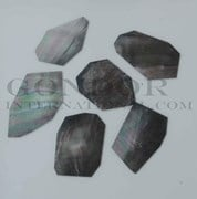 1oz Black Mother of Pearl blanks mix size 1.3mm