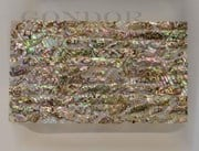 1pc Green abalone dark laminated sheet 135x235x0.5mm