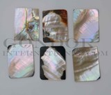 1pc Black abalone rectangle cabochons 30x40x2mm