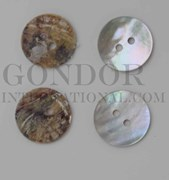 1pc Agoya buttons N 2H 24L