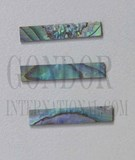 1pc Paua strips straight 6.35x25x1.3mm