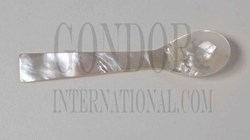 1pc Mother of Pearl spoons white 103mm
