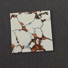 1pc Marble Bohemian CH2E6 reconstituted stone polished 1 side 50x50x1.5mm