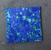 1pc Blue Dragon Skin CH2K1 reconstituted stone blanks  polished 50x50x1.5mm