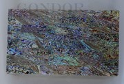1pc Paua laminated sheets B 135x235x2.5mm