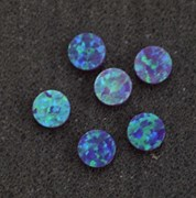 1pc Opal dots OP52 8 x 1.3mm