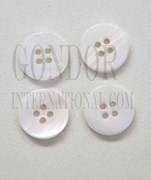 1pc Fresh Water Pearl button 4H 16Lx2mm