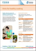 Hints for healthy cooking (NFS1611)