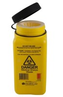 ASP 1.4L Screw-top Sharps Container