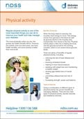 Physical activity and diabetes (NFS1622)