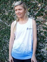 DNSW Live your life Unisex Running Singlet
