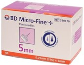 BD Microfine Pen Needle 31G 5mm