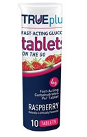 TRUEplus Raspberry Hypo Tablet 10pk