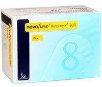 Novofine Autocover Safety Pen Needle 30G
