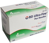 BD Ultra Fine Pen Needle 32G 4mm