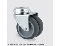 Castor 50mm swivel with bolt hole and 70kg capacity
