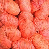 Madelinetosh Merino Light - Neon Peach