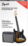 Squier Strat Pack HSS - Brown Sunburst
