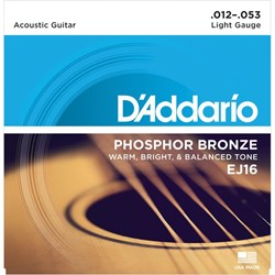 D'ADDARIO PB ACOUSTIC STRINGS 12-53