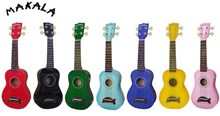 Makala MK-SD Soprano Dolphin Ukulele - Assorted Colours!