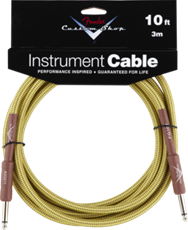 Fender Custom Shop Cable 10ft - SS Tweed