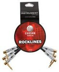 Carson Rocklines Patch Cables 3 Pack