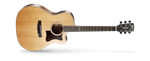 Cort GA5F Grand Auditorium Satin Natural