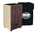 EBONY MANO PERCUSSION CAJON DRUM  WOODEN RHYTHM BOX with BLACK PADDED GIG BAG