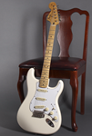 Fender Jimi Hendrix Strat  Olympic White In Gig Bag