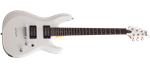 Schecter C-6 Deluxe Satin White Electric Guitar