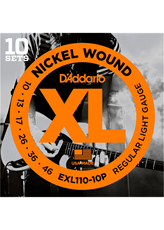 D'ADDARIO XL 10-46-10 Pack