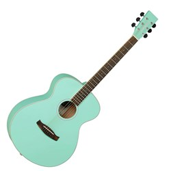 Tanglewood  Discovery Folk Acoustic Guitar Surf Green