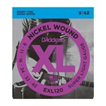 D'ADDARIO XL NICKEL WOUND ELECTRIC STRINGS 9-42