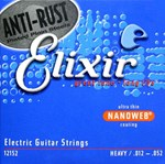 ELIXIR NANOWEB ELECTRIC GUITAR STRINGS 12-52