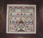 SCOTTISH SAMPLER Circa 1740- The Scarlet Letter