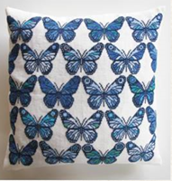 BUTTERFLIES Cushion Kit - Danish Handcraft Guild