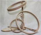 CREWEL WORK COMPANY HANDS FREE SEAT FRAME - set of three hoops and stand