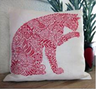 RED CAT CUSHION KIT - Danish Handcraft Guild