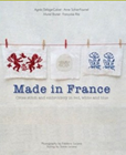 Made in France - Cross Stitch and Embroidery in Red, White and Blue by Agnes Delage-Calvert