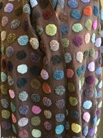 TUFTED CIRCLE SCARF - Sophie Digard