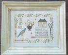 WITH NEEDLE & THREAD SAMPLER CHART - Samplers Not Forgotten