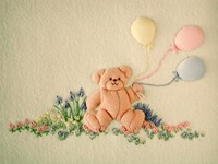 WINDFLOWER - Balloon Bear - PATTERN PACK