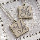 BERRY MONOGRAM PENDANT KIT - Vetty Creations