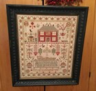 ESTHER IDDISON 1832 SAMPLER - Chessie & Me