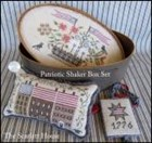 PATRIOTIC SHAKER BOX SET - by The Scarlett House
