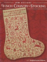 FRENCH COUNTRY STOCKING -  JBW Designs by Judy Whitman