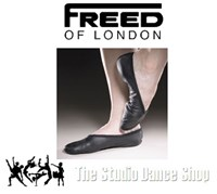 Boys Full Sole Leather Ballet Shoes