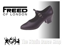 Leather Cuban Heel Character Shoe selected sizes only