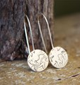 Original etch hanging earring- mixed designs